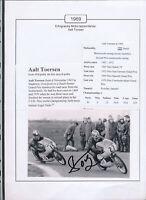565238 / Motorrad Beleg Autogramm Aalt Toersen