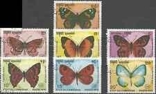 Timbres Papillons Cambodge 1115/9 o lot 10349