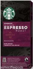 Starbucks Nespresso Espresso Roast Coffee Compatible 10 Pods