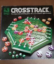 Crosstrack. The unique track switching game for 2,3 or 4 players aged 8 to adult