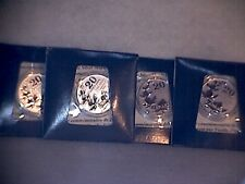 2011 $20.00 DOLLAR SILVER COMMEMORATIVE MAPLE LEAF.LOT OF 4.