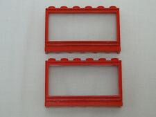 kurze Fensterbank Lego No: 645 1x Fenster weiß 1x6x2 mit Scheibe