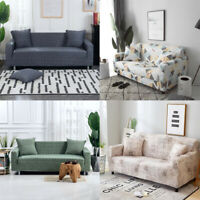 1-4 Seaters Home Sofa Cover Protector Lounge Couch Recliner Slipcover Stretch