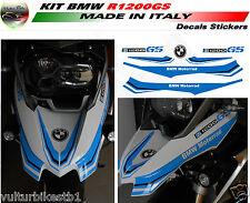 adesivi moto BMW R1200gs kit personalizzato puntale parafango superiore