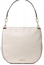 Michael Kors Fulton Large Hobo bag PVC Gold  chain signature bag vanilla coated