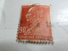 FRANCE 1927 timbre 243, BERTHELOT, CELEBRITE', oblitérés, VF canceled STAMPS