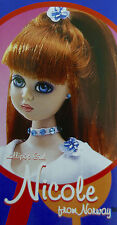 * WOW! JAN MCLEAN LOLLIPOP GIRLS DOLL * NICOLE FROM NORWAY * NEW IN BOX *
