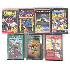 GAMES LOT: ROLAND ON THE RUN ELECTRO FREDDY DRAGONS GOLD AMSOFT AMSTRAD CASSETTE
