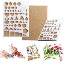 Paper Quilling Template Mould Board Papercraft DIY Crimper Art Tool Scrapbooks