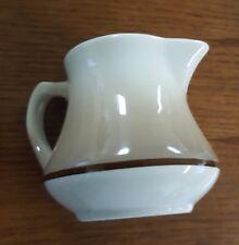 Vintage Homer Laughlin Ceramic Creamer Marked Best China KD