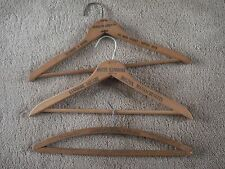 Vintage...Lot Of -3...Wooden Advertising Hangers...Buffalo, Rochester NY.- Mass.