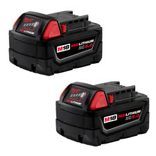 Milwaukee M18 REDLITHIUM XC5.0 Extended Capacity Battery - 2 Pack