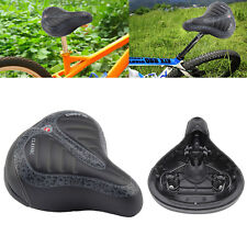 WIDE BIG BUM BIKE BICYCLE GEL CRUISER COMFORT SPORTY SOFT PAD SADDLE SEAT HOT