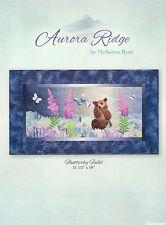 McKenna Ryan, Aurora Ridge Quilt Block Pattern Series, Flutterby Field Bear DIY