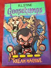 Goosebumps Scream Machine R.L. Stine, talking vtg 1996 tested New batteries (k2)