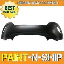 for 2012 2013 2014  HYUNDAI VELOSTER w/Sensor Hole Rear Bumper Painted HY1100187