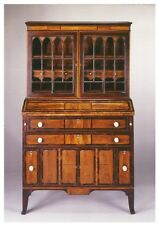 Postcard Judkins & Senter Desk and Bookcase 1813 Currier Museum of Art NH MINT