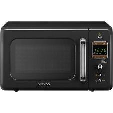 Daewoo Kor 7 Lbkb Retro Vintage 800W 20L Digital Freestanding Microwave