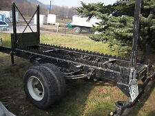 Holzanhänger Eigenbau Druckluftbremse auf 7,5 Tonnen Fahrgestell