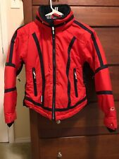 Youth Girls OBERMEYER Sport Colorful Ski Jacket Juniors Size 10 Red