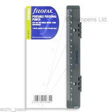 Filofax Personal Size Organiser Portable Plastic Hole Punch Refill 130119