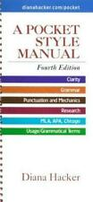 New listing A Pocket Style Manual by Diana Hacker