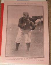 1901 - 1917 Police Gazette Baseball Premium Page Roger Bresnahan