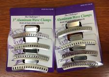 """Challenger 3"""" Aluminum Wave Clamps  8 pcs CH-385"""