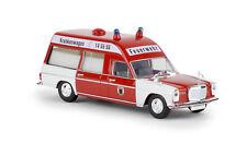Brekina Starmada 13810 Mercedes Benz/8 KTW Binz Feuerwehr Dortmund HO 1:87 NEU