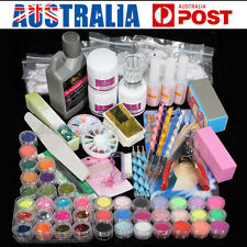 DANCINGNAIL Full DIY Acrylic Art Kit Set Acrylic Powder Liquid Nail Tip Sticeker