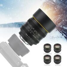 50mm F1.1 II APS-C Large Aperture Manual Focus Lens For M3/4 Mount Camera