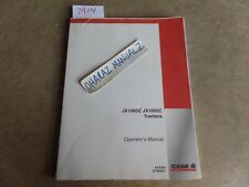 CASE JX1085C Tractor Operator's Manual  6-63360