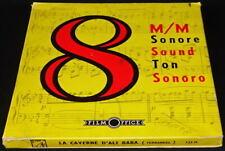 *** FILM S8 NB SONORE 123 METRES - FERNANDEL / LA CAVERNE D'ALIBABA 1954 ***