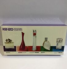 KENZO 5 Pcs Ministers Gift Set Women's Perfume IN SEALED BOX