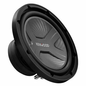 "Kenwood KFC-W2541 1300W Power 4 Ohm 10"" Car Component Audio Subwoofer"