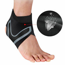 Sport Compression Sleeves Ankle Support Foot Brace Strap Wrap Elastic Bandage