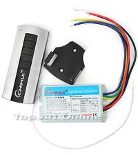 Télécommande à Distance Wireless Sans Fil 4 Canaux Commutateur Interrupteur