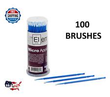 Element Touch Up Paint Micro Brush 100 Brushes Medium Tip Premium Quality
