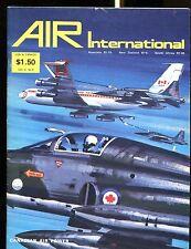 Air Enthusiast Magazine April 1975 Canadian Air Power EX No ML 122916jhe
