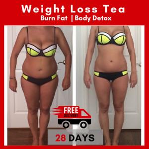 28 Day Slimming Herbal Detox Green Tea Weight Loss Burner Fat Skinny Teatox Diet