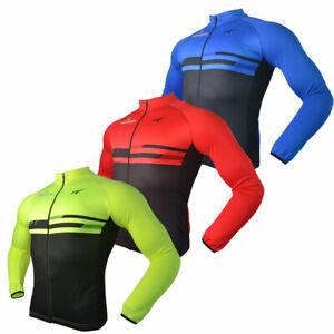 2021 Merida Long Sleeve Cycling Jersey Top Men's Reflective Bicycle Jersey Shirt