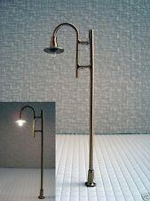 S168 - 10 Stück LED Straßenlampen 1-flammig 8cm 12-19V Set Bogenleuchten