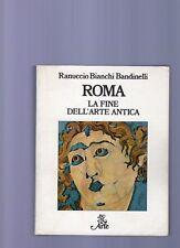 roma - la fine dell' arte antica  - 1980