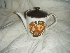 C4 Pottery Johnson Bros 1B3 Floral Teapot 24x18x12cm 3C5B