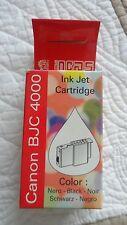 Cartouche d'encre Incas Noir pour Canon BJC 4000 / Canon BJC 4000 Black Ink