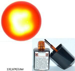 Tauchlack ORANGE QUALITATIV HOCHWERTIG Glühlampen Lampenlack Birne Lack NEU