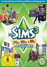 Die Sims 3: 70er, 80er & 90er-Accessoires (PC/Mac, 2013, in DVD-Box)