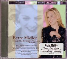 Bette Midler Sings Rosemary Clooney Songbook CD Classic 50s 60s Pop Greatest