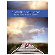 Disorders of Childhood : Development and Psychopathology by Robin Hornik...