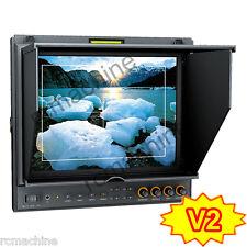 "Lilliput 9.7"" IPS HDMI Monitor 969B/O/P PEAKING Canon LP-E6 adapter 5D Mark III"